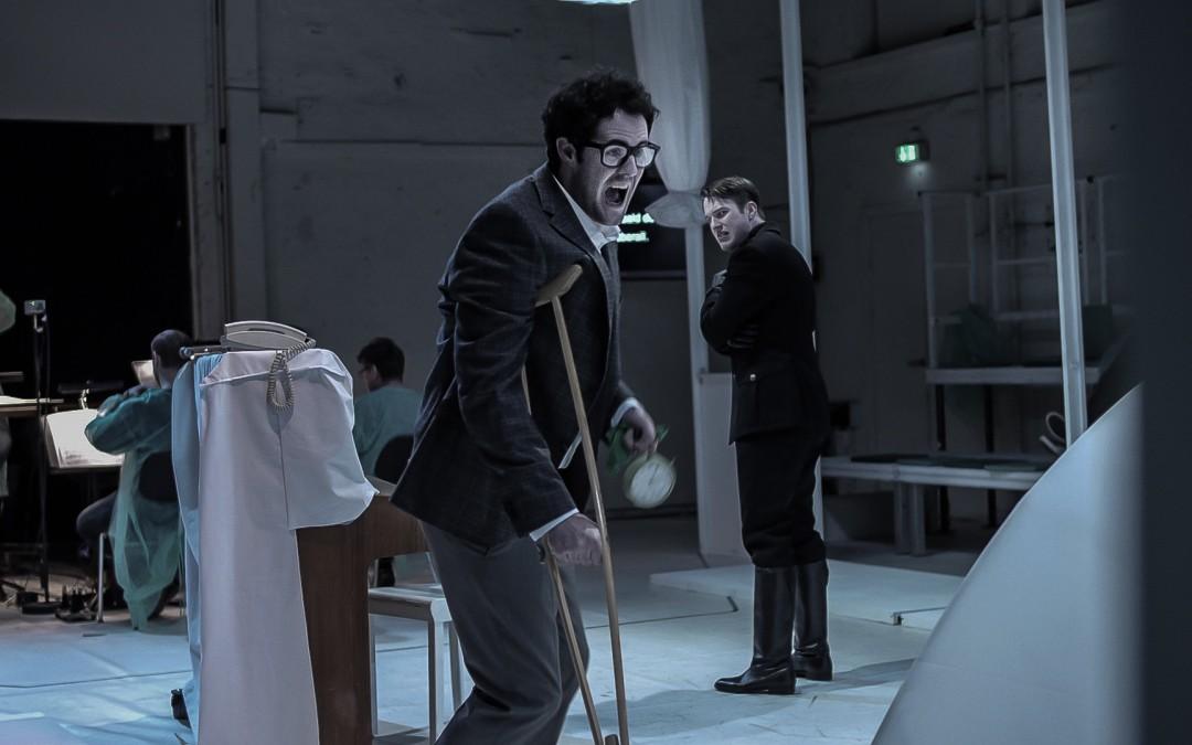 Tarquin, de Krenek, en la Staatsoper de Berlín. Una obra corta de miras.