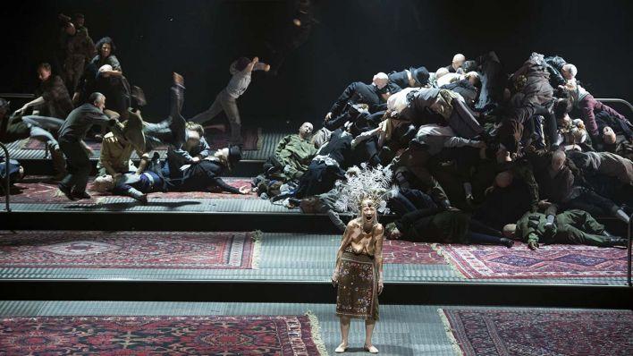 Moses und Aron, de Schönberg, en la Komische Oper de Berlín: una lectura beckettiana.