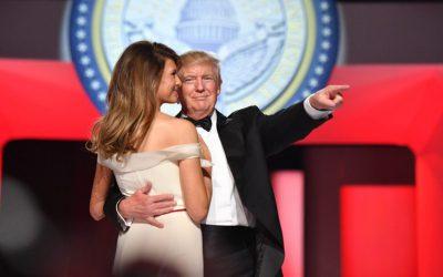 I did it my way. El baile de investidura de Donald Trump