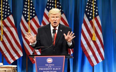 La cena de los bufones: Donald Trump
