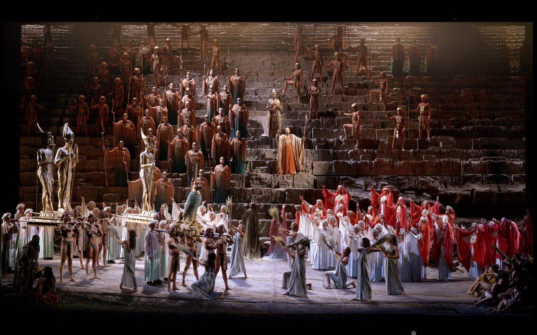 """La exótica """"Aida"""" de Verdi en el Teatro Real"""